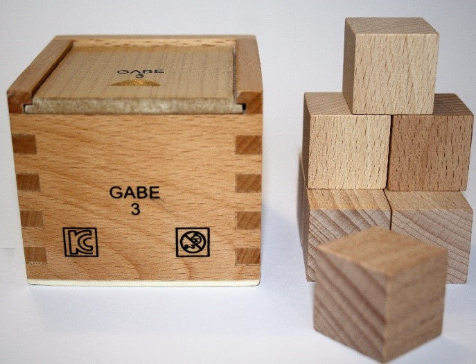 Froebel Gabe No. 3 -  Divided Cube