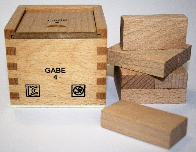 Froebel Gabe No. 4 -  Rectangular Prisms