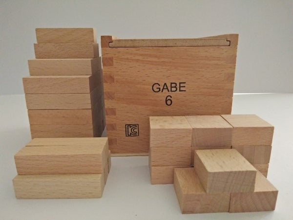 Froebel Gabe No. 6 -  The Classic Building Blocks