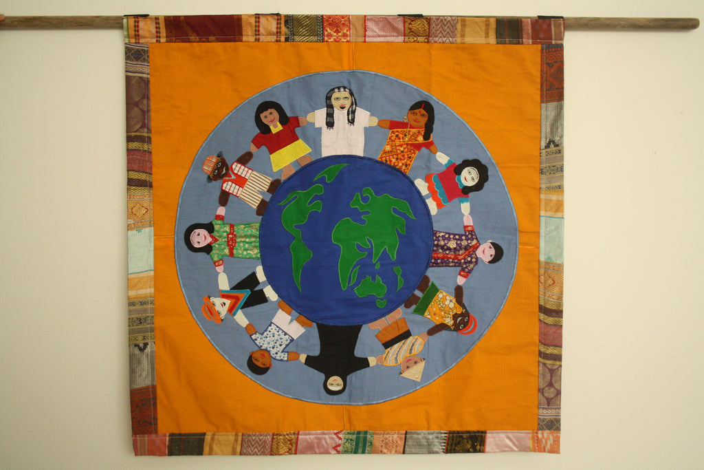 People of the World Wall Hanging - Large Size