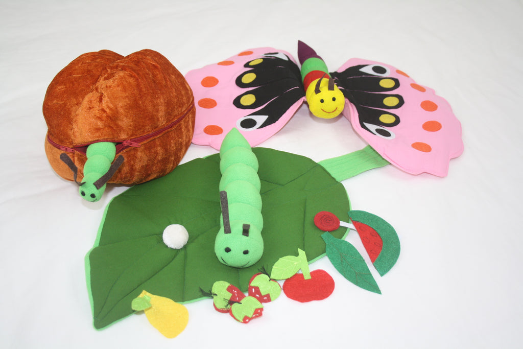 Cocoon, Caterpillar and Butterfly Kit. Available September