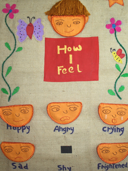 Emotions Wall Chart - How I Feel