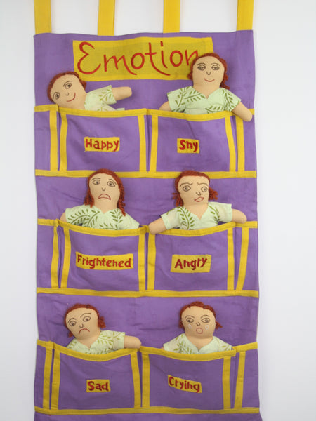 Emotions Dolls Wall Hanging