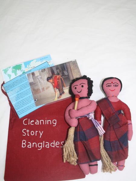 Multicultural Story Bag - Cleaning Jobs - Bangladesh