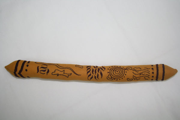 Indigenous Message Stick  Ngaribar-dinir by Sherren Gross