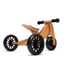 Kinderfeets Tiny Tot Bamboo 2-in-1 Trike Balance Bike