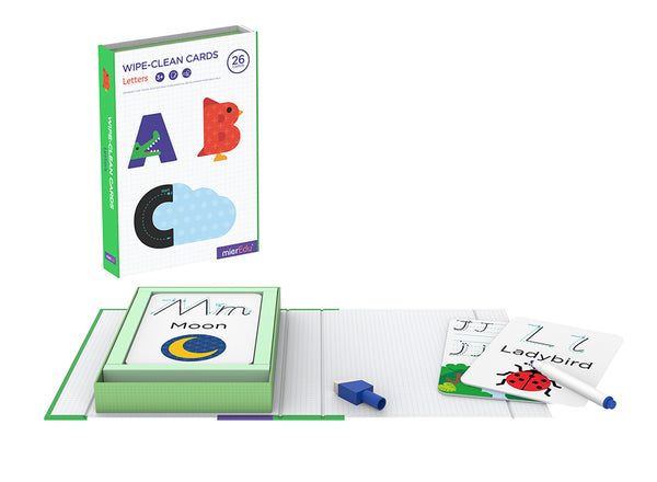 Wipe Clean Cards - Alphabet
