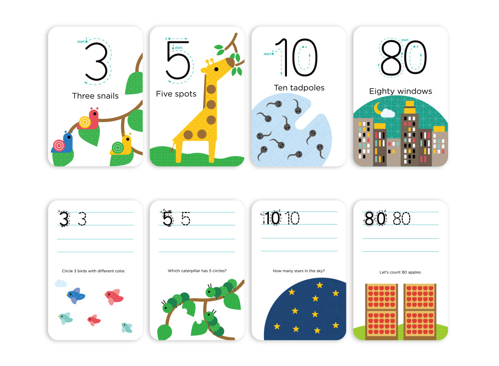 Wipe Clean Cards - Numbers