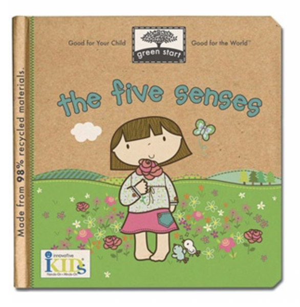 Green Start Book - The Five Senses by Jillian Phillips