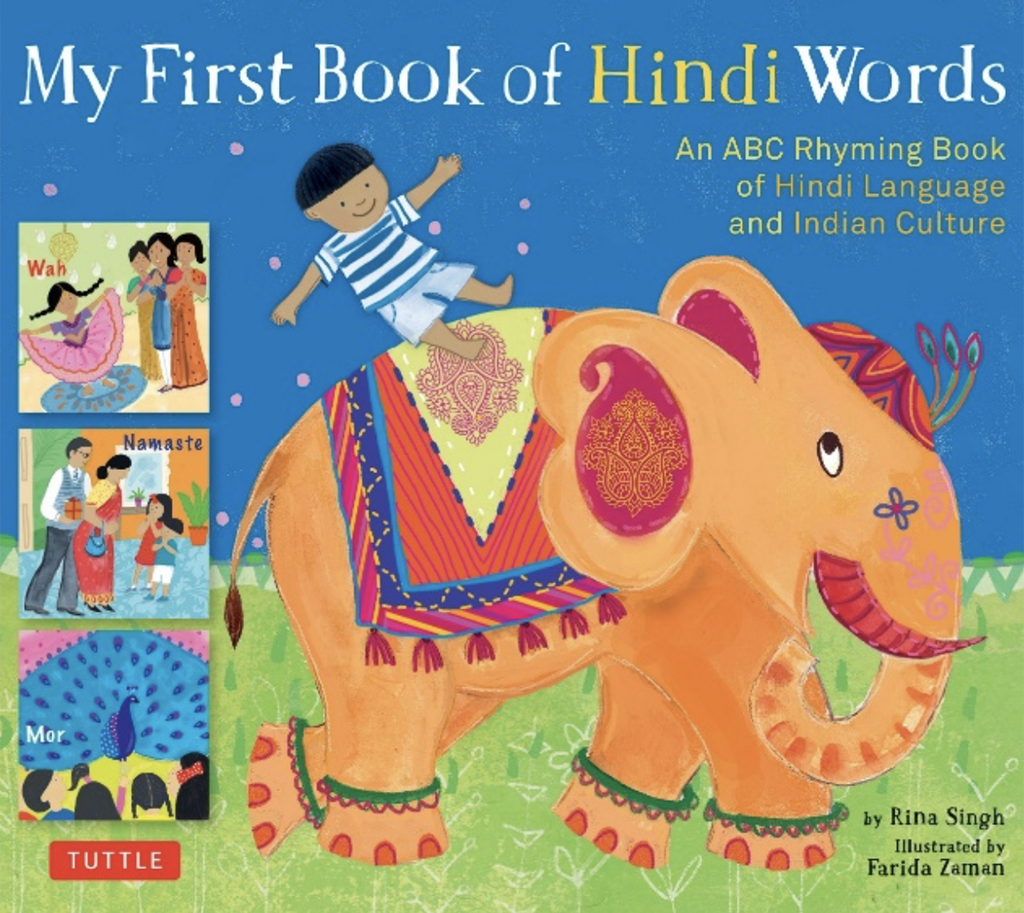 Language Book - My First Book of Hindi Words by Book Rina Singh