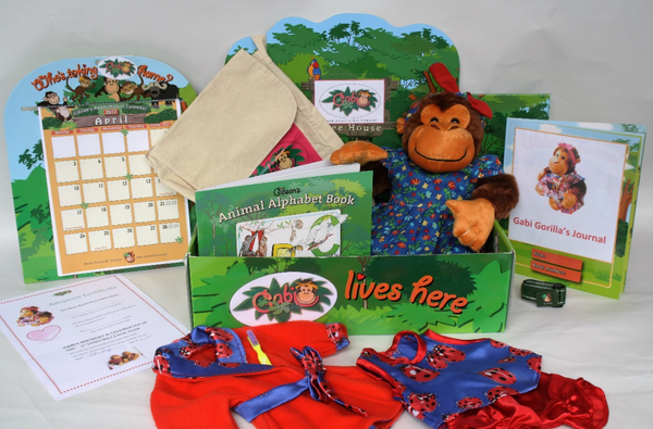 Gabi the Gorilla Educational Kit