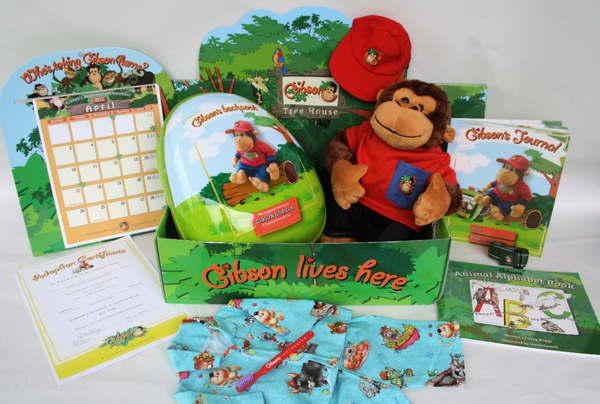 Gibson the Gorilla Educational Kit