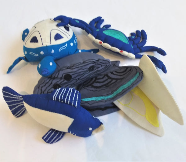 Indigenous Seafood Play Set