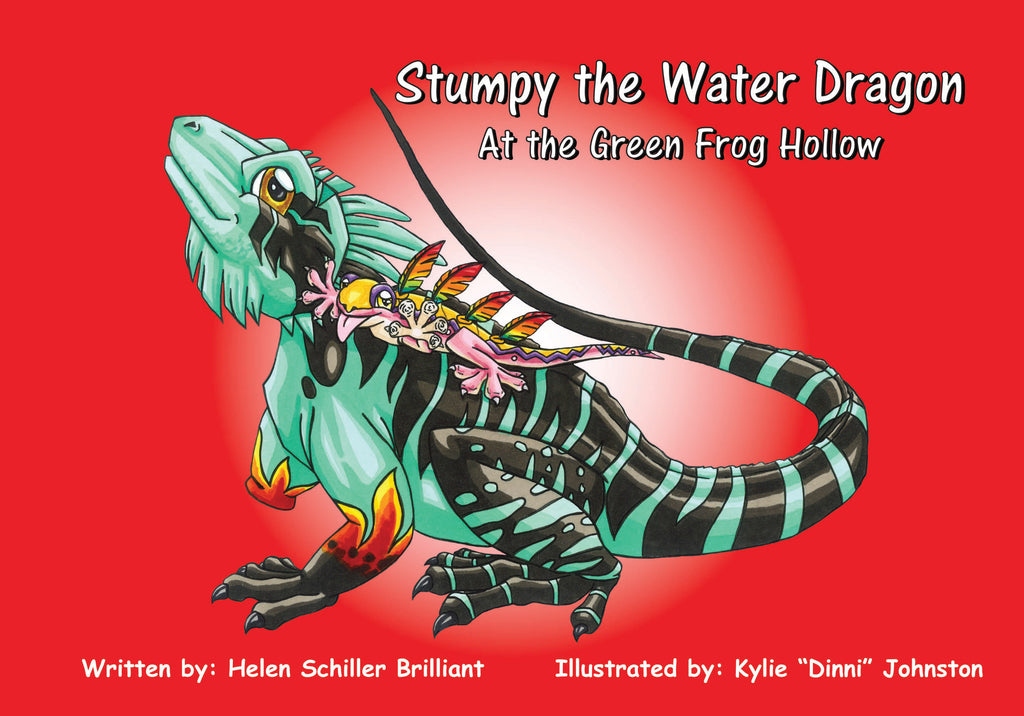 Book - Stumpy The Water Dragon
