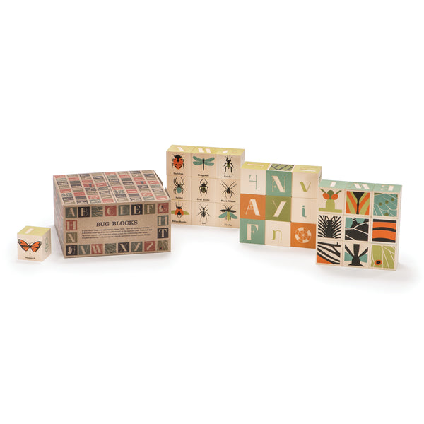 Wooden Blocks Bugs