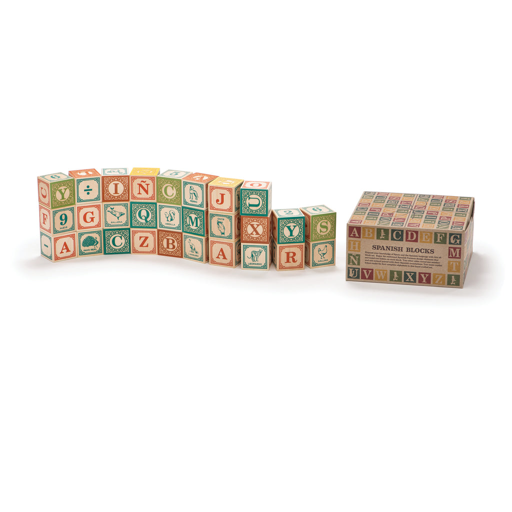 Wooden Blocks Spanish