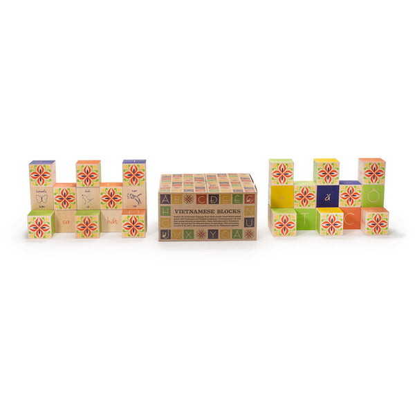Wooden Blocks Vietnamese