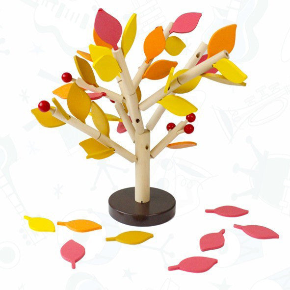 Wooden Tree Building Kit - Autumn Tree