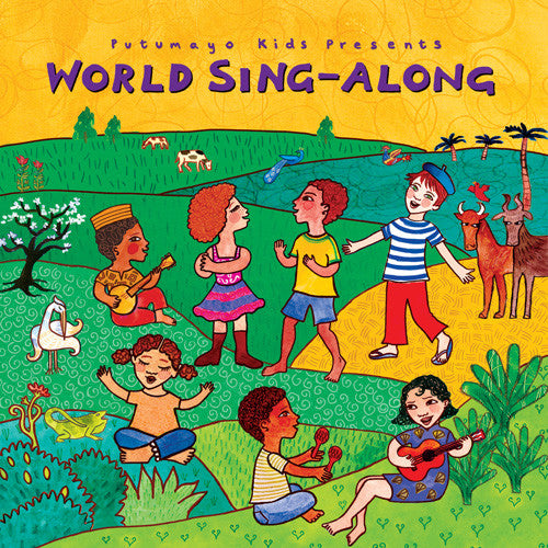 World Music Putumayo CD - World Sing-Along