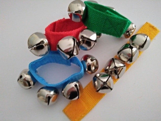 Pair of Musical Wrist Bells on Sale $5.00 normally $7.00