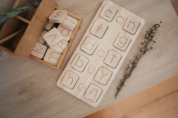 C-V-C Word Tray with Alphabet - Available for delivery mid January