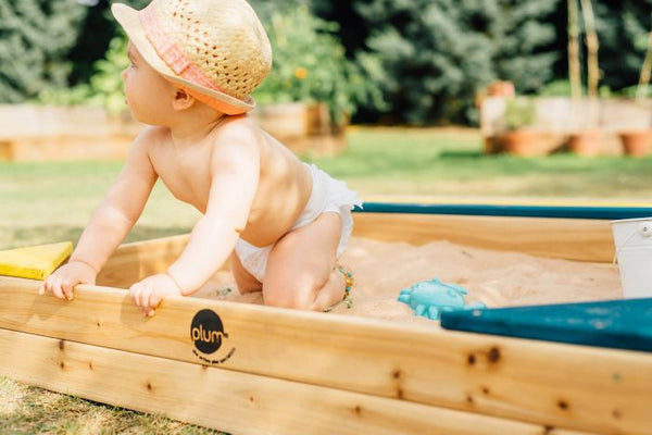 Plum Store it Wooden Sand Pit - Pre order for mid November delivery