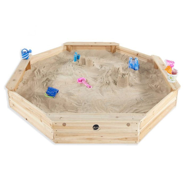 Plum Giant Octagonal Wooden Sand Pit