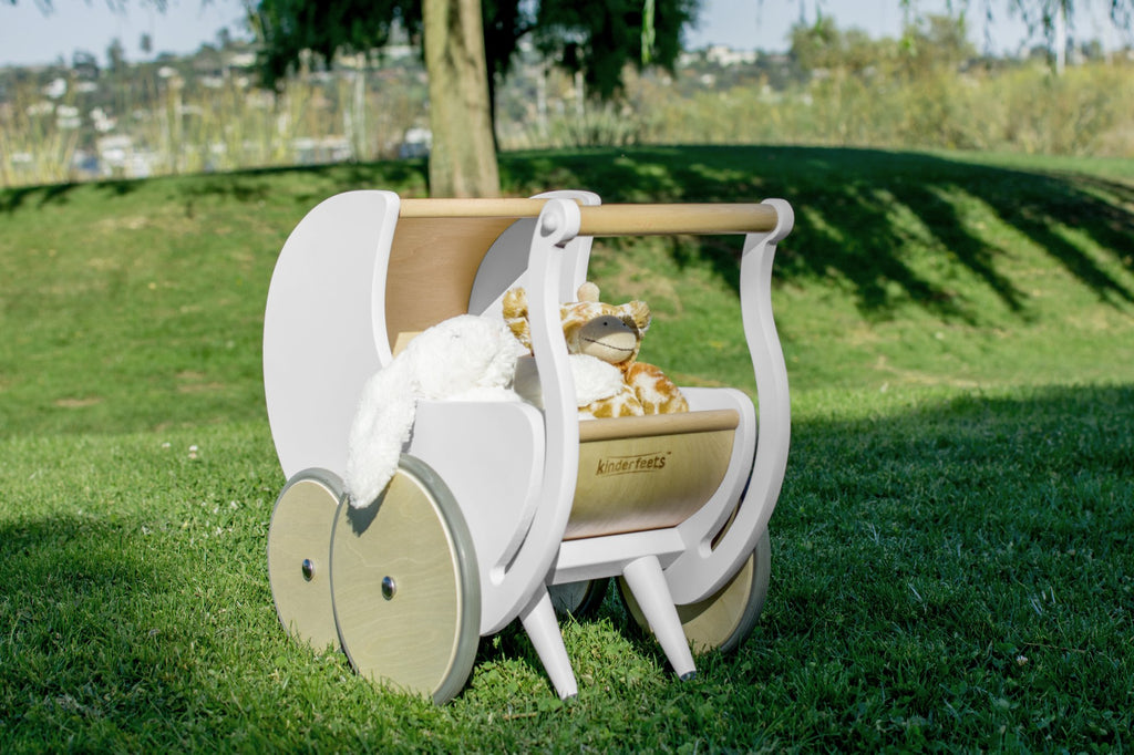 Kinderfeets Pram/Walker White