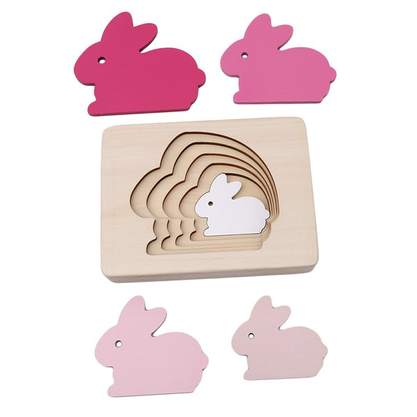 Puzzle Wooden Rabbit