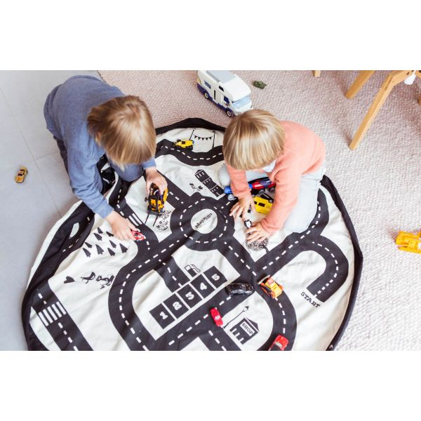 Road Map Play And Go Storage Mat Bag Summer Hill Kids
