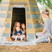 Plum Grand Wooden Teepee Hidaway