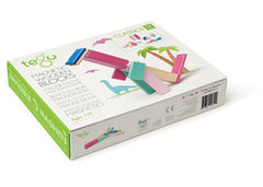 Tegu Magnetic Wooden Blocks 14pc Blossom Set
