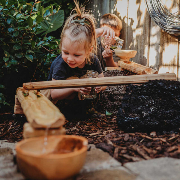 Explore Nook Wooden Waterways Outdoor Play - Home Kit