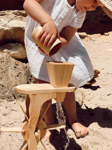 Explore Nook Wooden Water Wheel - Pre Order Late February Delivery
