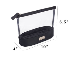 "Onyx + Diamond Jetsetter Pouch - Generously spacious design - 10"" length, 6.5"" height, 4"" width 