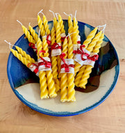 Beeswax Spiral Candles