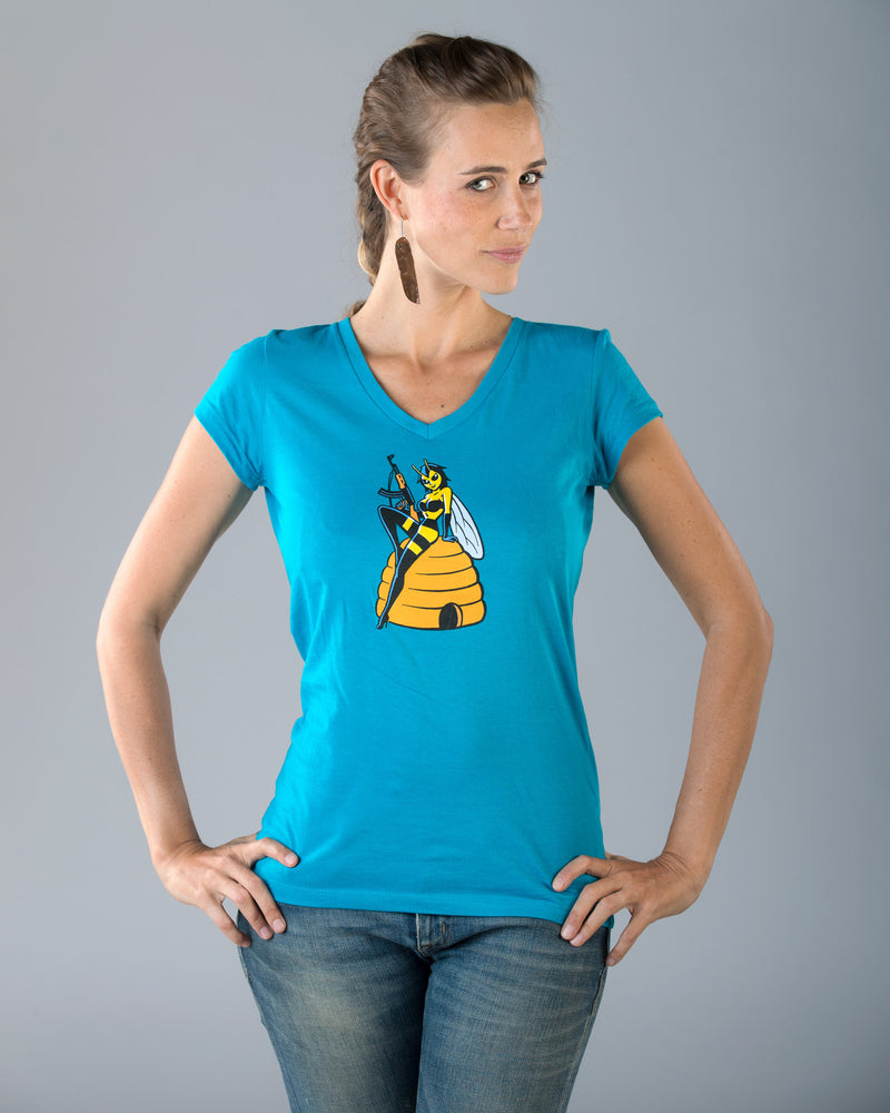 "Women's ""Naturally Tough"" - Killer Queen Bee T"