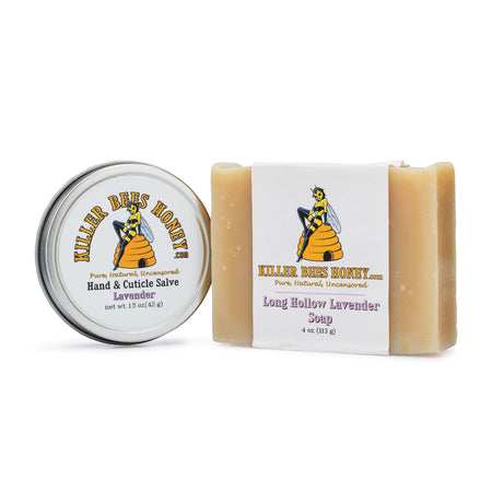 Killer Beeswax Salve & Soap Set - Lavender