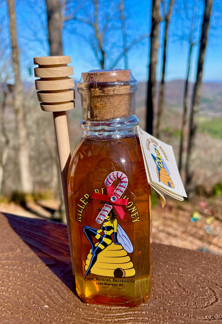 Mountain Wildflower Honey Holiday Gift Bottle