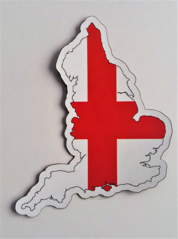 England MAPag Magnetic Decal