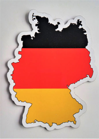 Germany MAPag Magnetic Decal