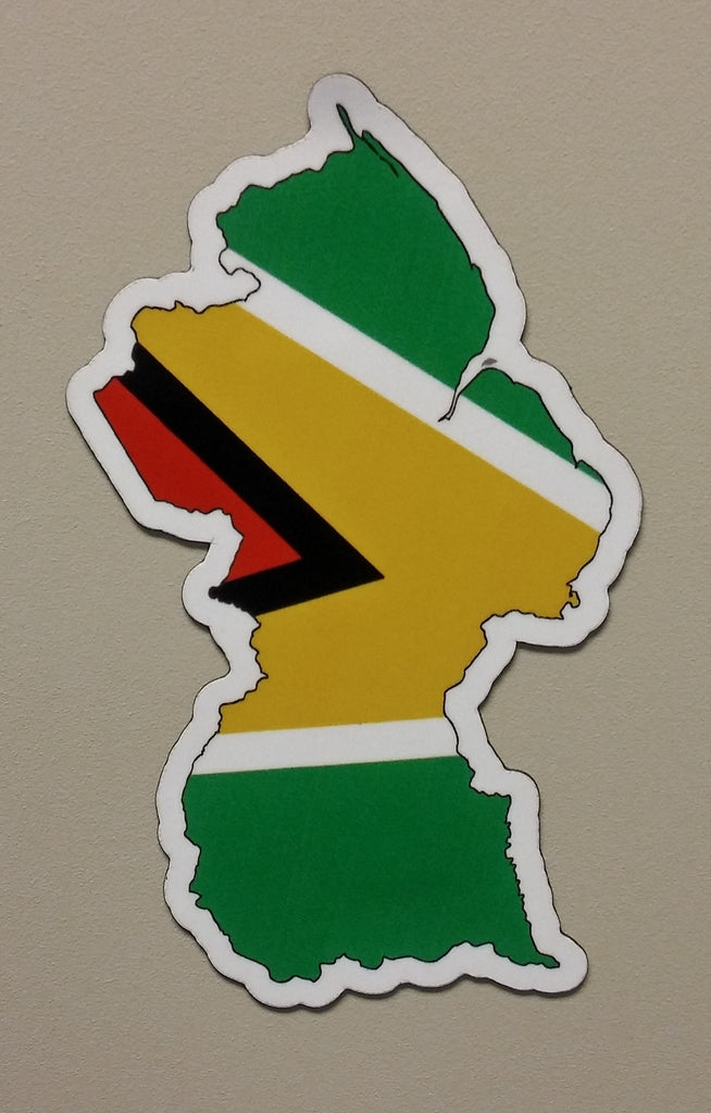 Guyana MAPag Magnetic Decal