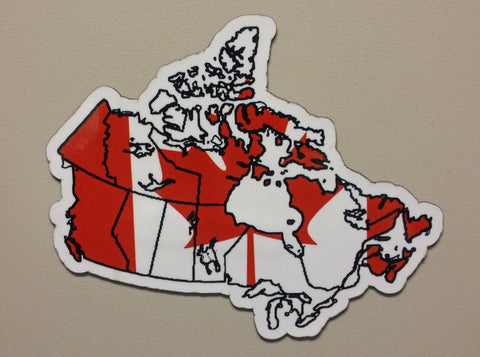 Canada MAPag Magnetic Decal