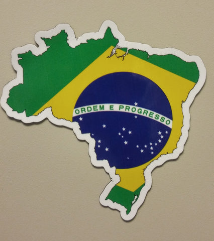 Brazil MAPag Magnetic Decal