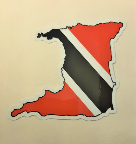 Trinidad & Tobago MAPag adhesive backed Decal