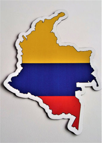 Colombia MAPag Magnetic Decal