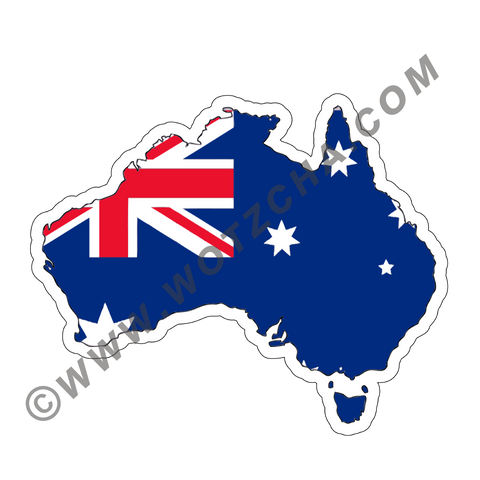 Australia MAPag adhesive backed Decal