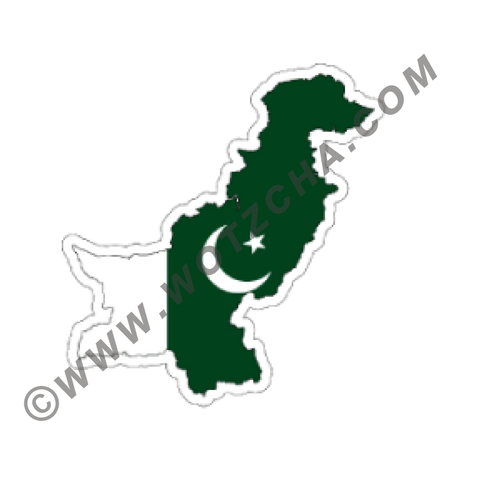 Pakistan MAPag adhesive backed Decal