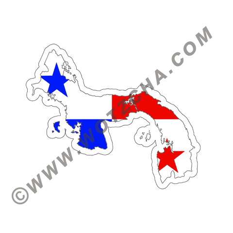 Panama MAPag adhesive backed Decal