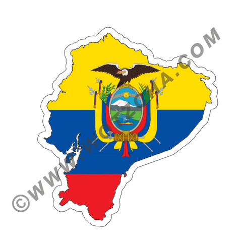 Ecuador MAPag Magnetic Decal